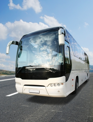 Executive coach charter in Dorset for airport and seaport transfers or events